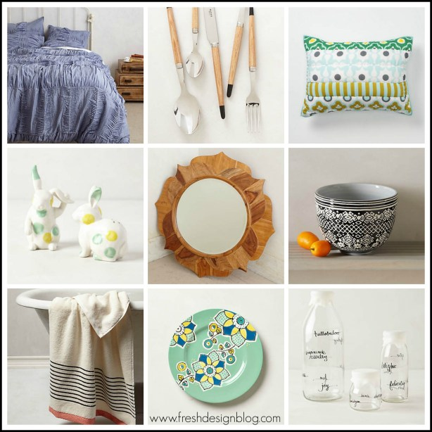 Fresh Design sales guide: Anthropologie