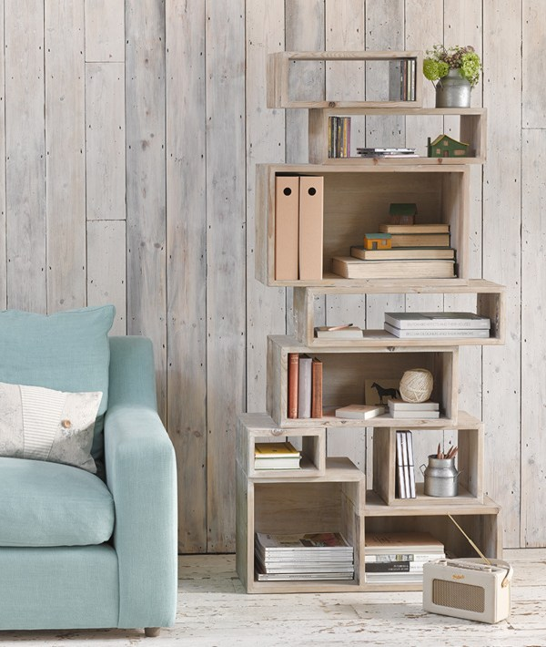 Nifty and distinctive home shelving ideas from Loaf