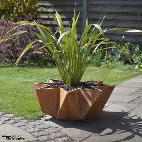 Kronen bowl flower pot by Adam Christopher Designs