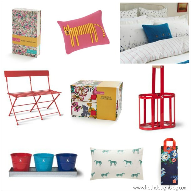 Fresh Design guide to the Joules home and garden sale
