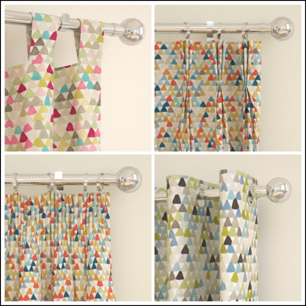 Fresh Design geometric trend curtains