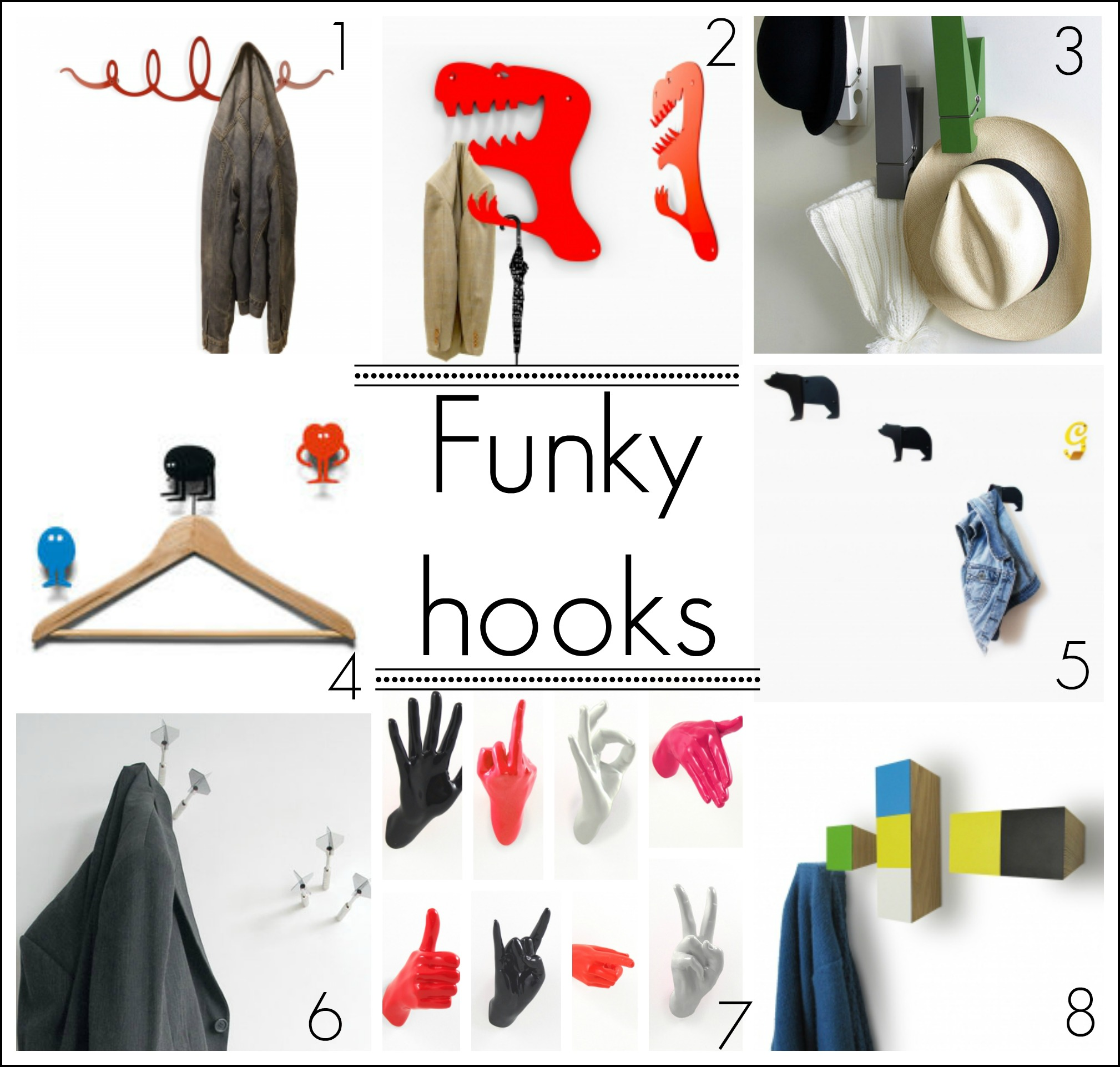Funky Coat Hook Home Design Minimalist