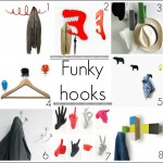 Funky contemporary coat hooks for your home