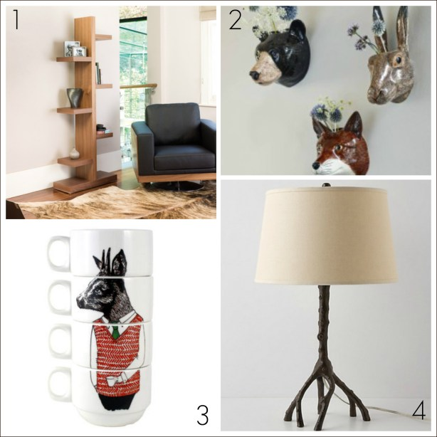 Woodland inspired home decor ideas from Fresh Design blog
