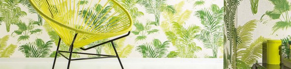 Six décor looks using wallpapers from Wallcover