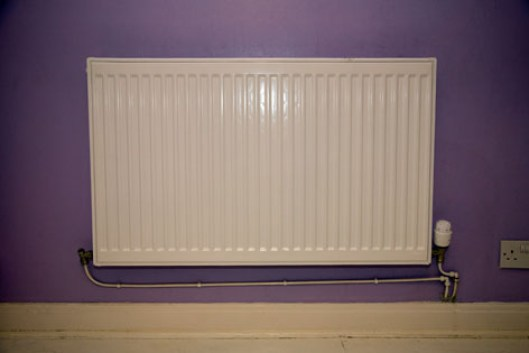 Brighten up a plain white radiator with a funky Radwraps radiator cover