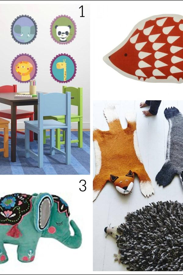 Animal antics: Fresh design ideas for children's rooms