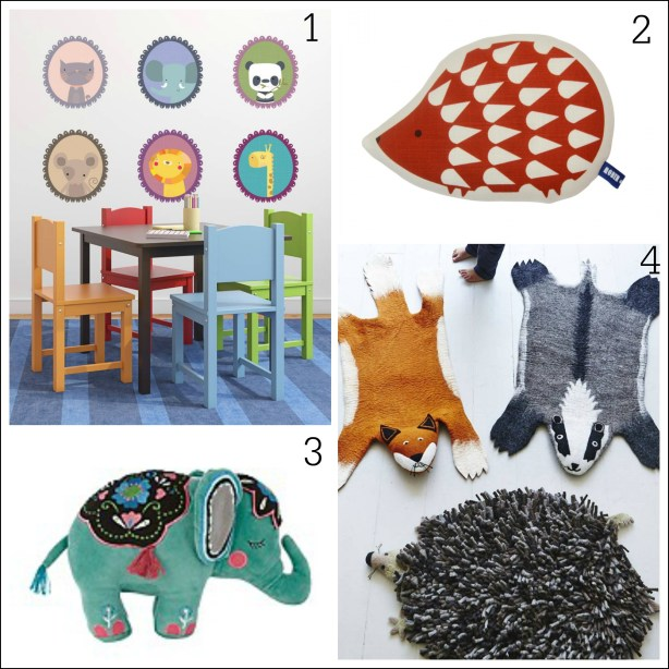 Children's room decor ideas from Fresh Design Blog