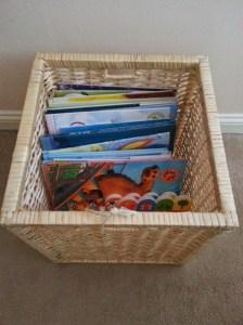 Stylish storage for children's rooms