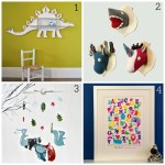 Animal antics: Fresh design gift ideas for children's rooms