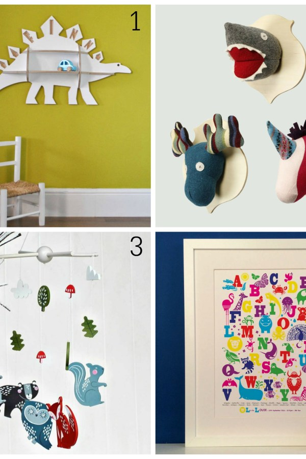 Animal antics: Fresh design gift ideas for children's rooms