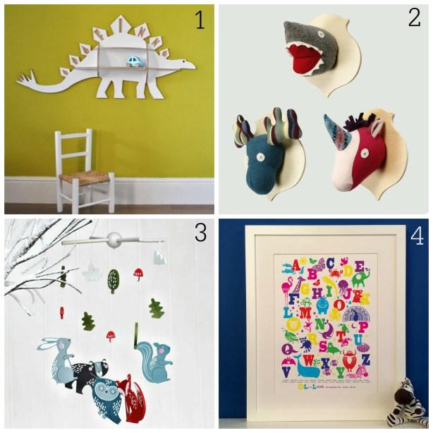 Christmas gift ideas for children's rooms