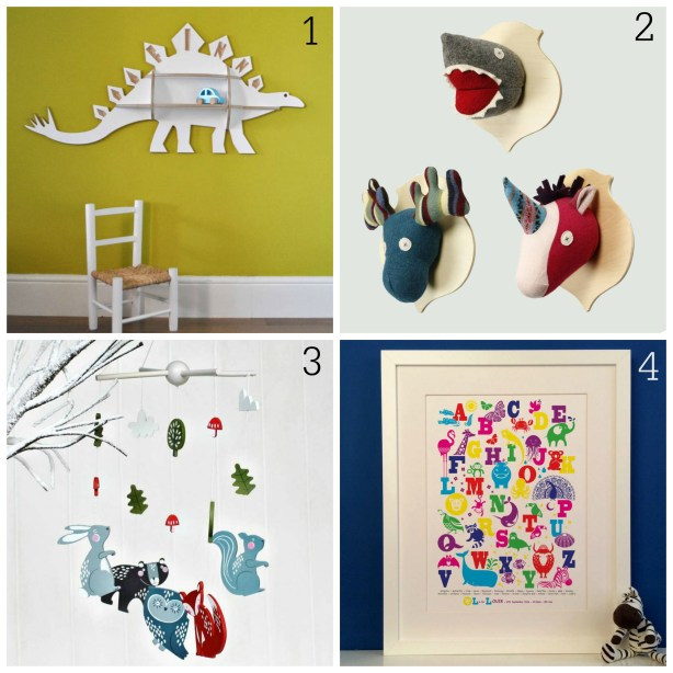 Christmas gift ideas for children's rooms