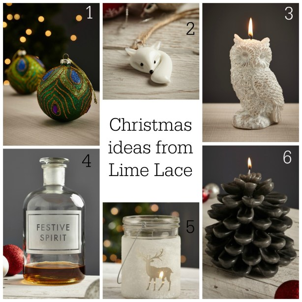Fresh Design Blog reviews Christmas gifts from Lime Lace eclectic interiors