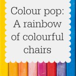 A rainbow of colourful seating from The Funky Chair