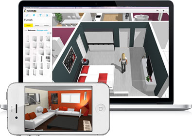 Free 3D interior design tool reviewed by Fresh Design Blog