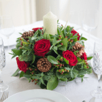 Contemporary Christmas flowers from Appleyard London