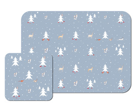 Winterwood mats from Sophie Allport