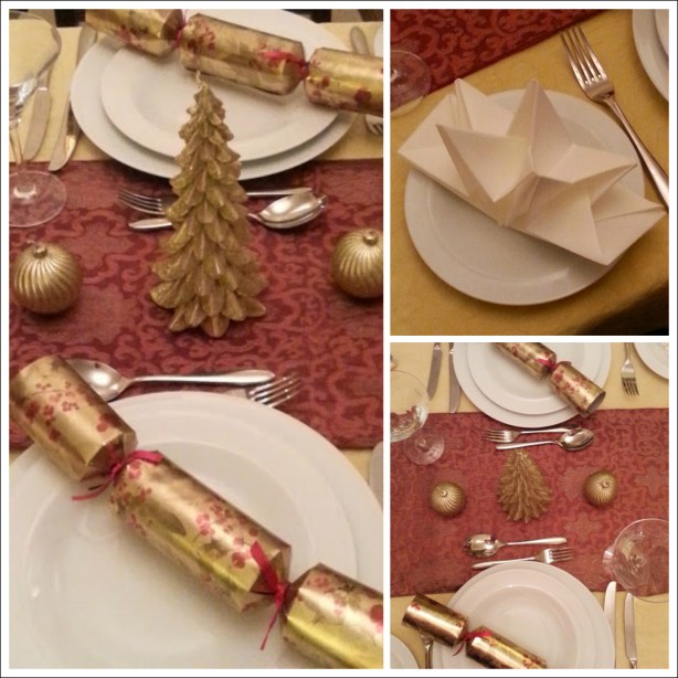 How to style a Christmas table