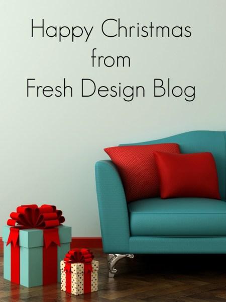Happy holidays from Fresh Design Blog