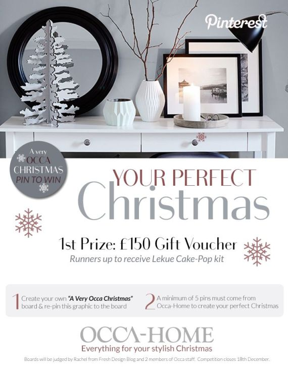 Share your perfect Christmas home ideas to win