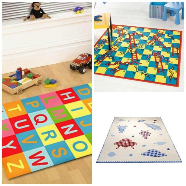 Fresh Design rug ideas for children's bedrooms