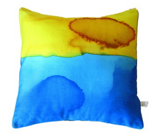 Dessert design cushion by Polly Taylor