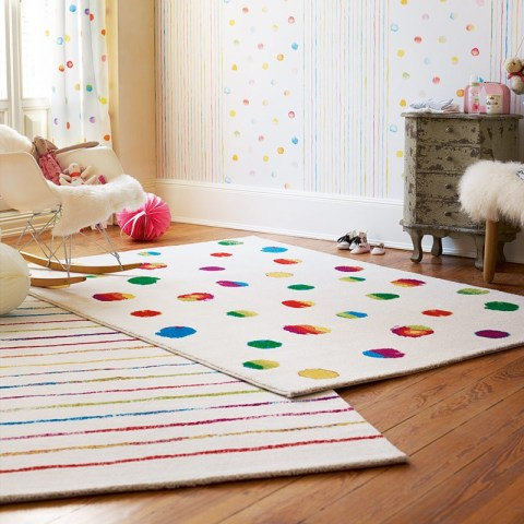 Fresh Design children's room ideas using rugs