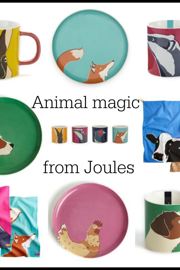 Animal magic: Bold ceramics and kitchenware from Joules