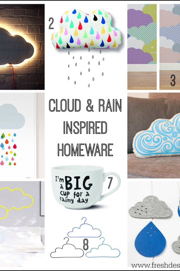 British weather report: Clouds and rain inspire homeware