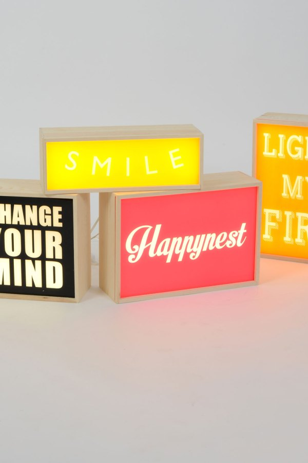Fresh Design home ideas: Seletti Lightthink boxes