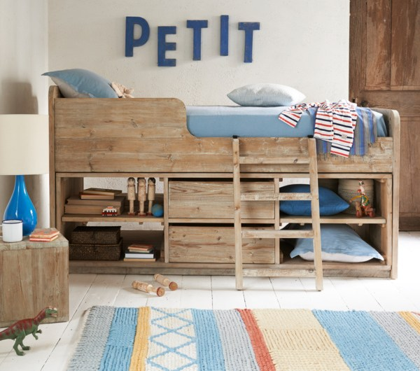 Clamber Doodle children's cabin bed from Loaf