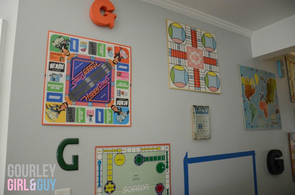 Wall games decor