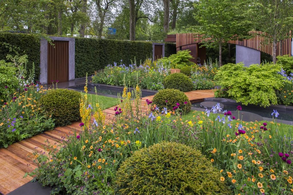 RHS Chelsea 2015: The Homebase Urban Retreat Show Garden
