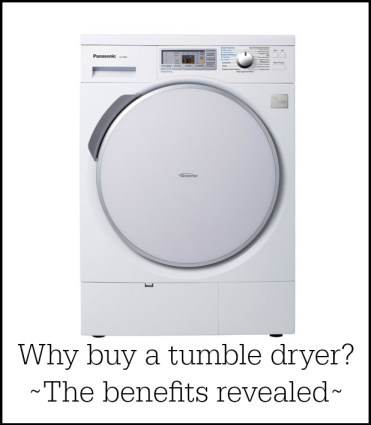 Tumble dryer versus washer dryer