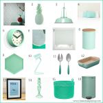 Minty fresh colour: 16 ways to accessorize your home with mint