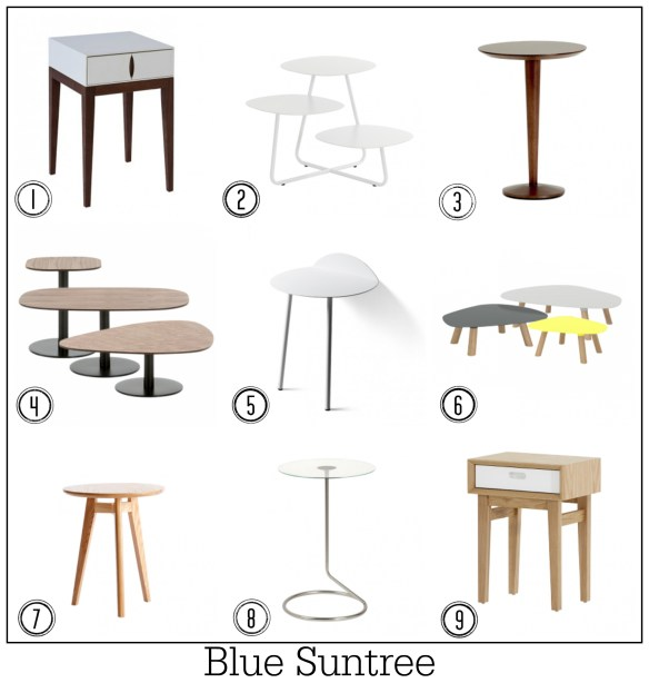 100 best contemporary side tables