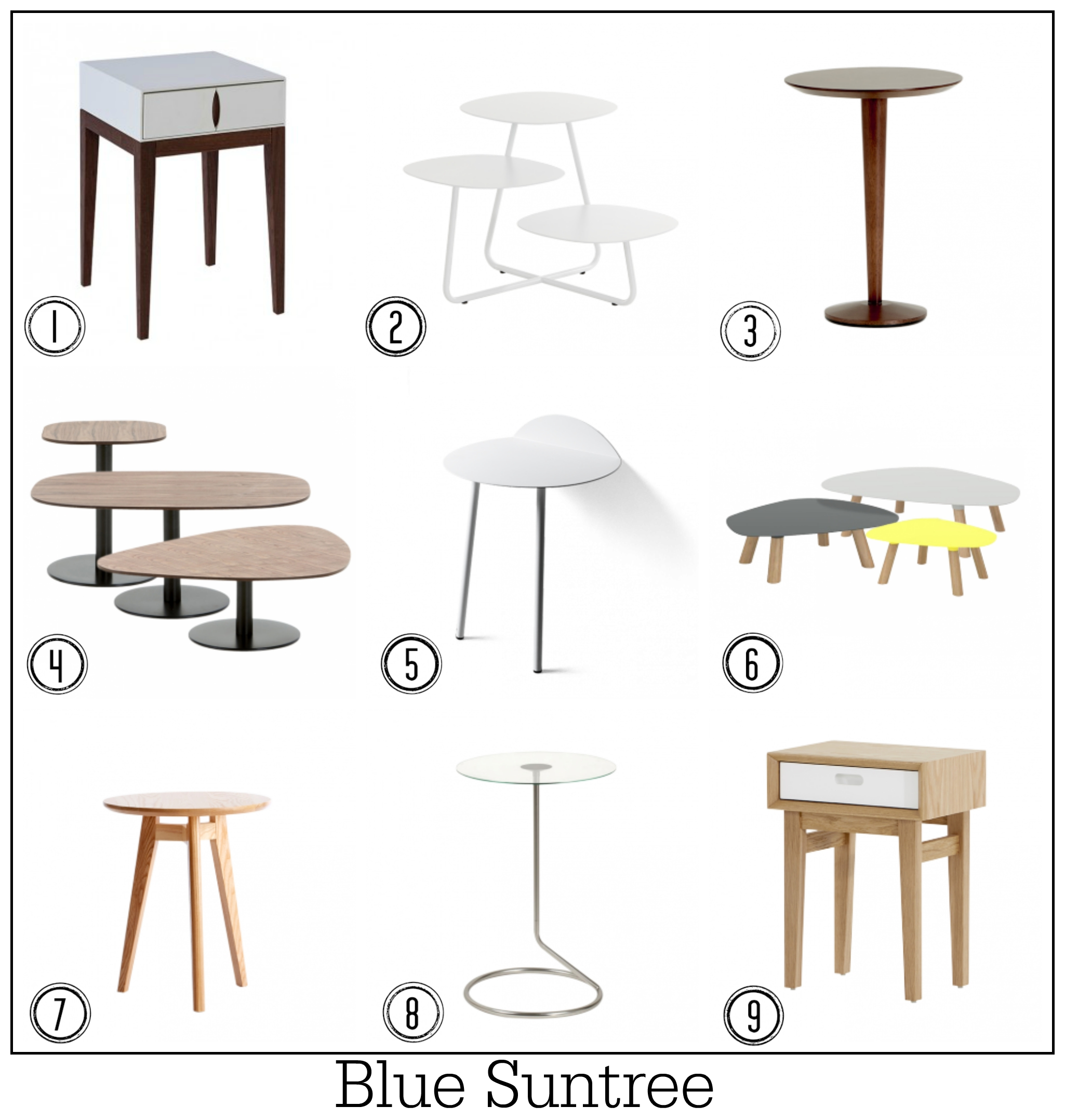 table solutions 100 top contemporary design side tables fresh design blog. Black Bedroom Furniture Sets. Home Design Ideas