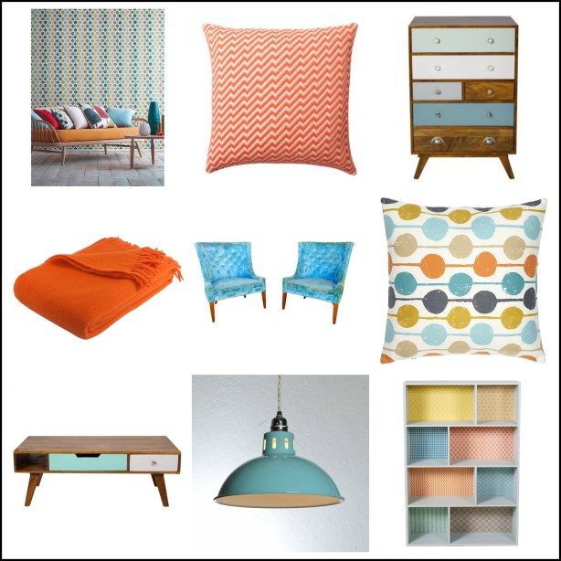 Accessories and furniture to brighten up a room