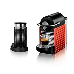 Krups Nespresso Pixie red coffee machine XN301540
