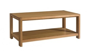 Matrix collection solid oak wood coffee table