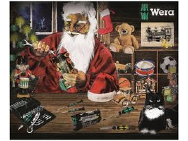 Wera DIY tools Christmas advent calendar 2015