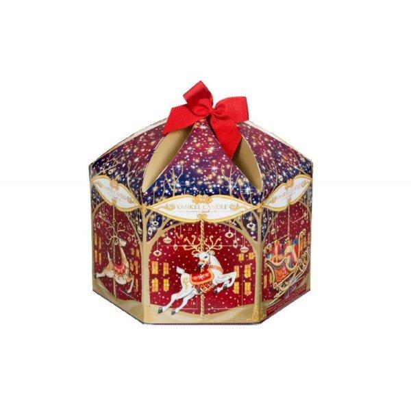 Yankee Candle carousel design 2015 advent calendar