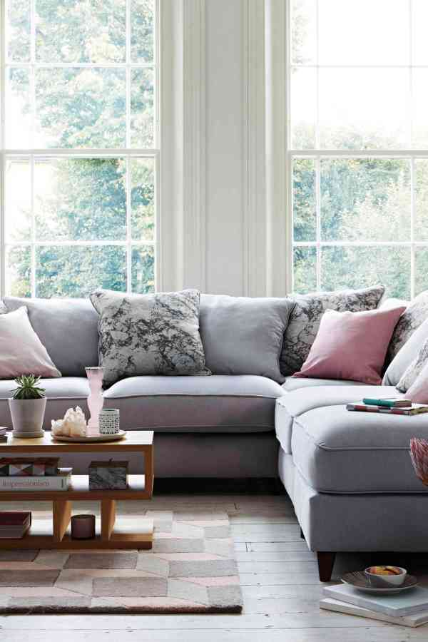 Add a pastel pop to your living room with Furniture Village