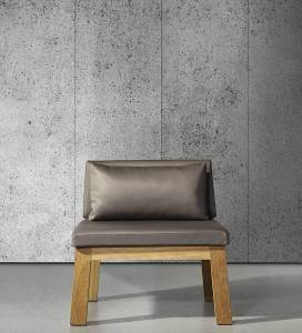 Very realistic looking concrete design wallpaper