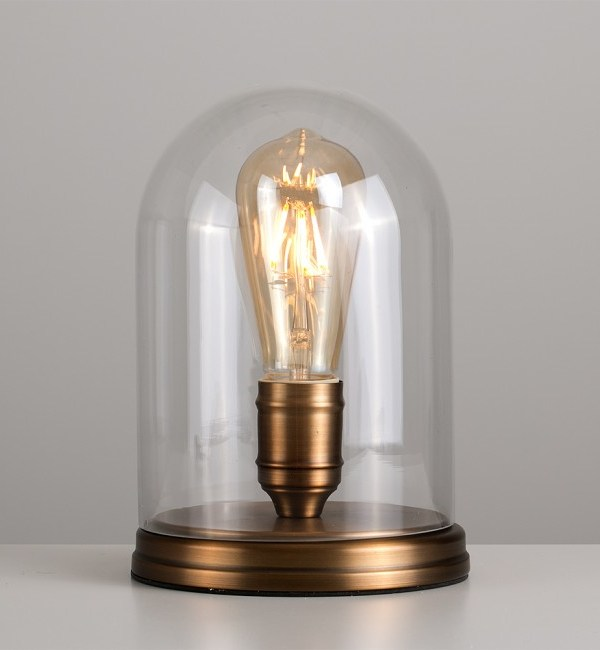 Thomas Edison style Steampunk table lamp from Iconic Lights
