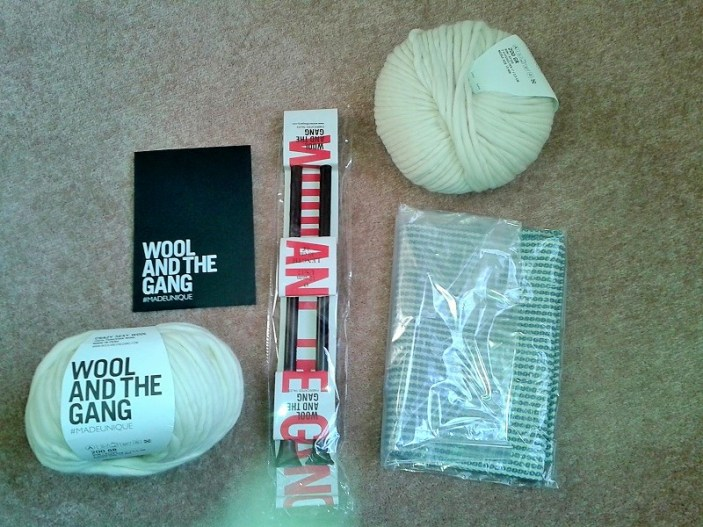 The contents of the kit