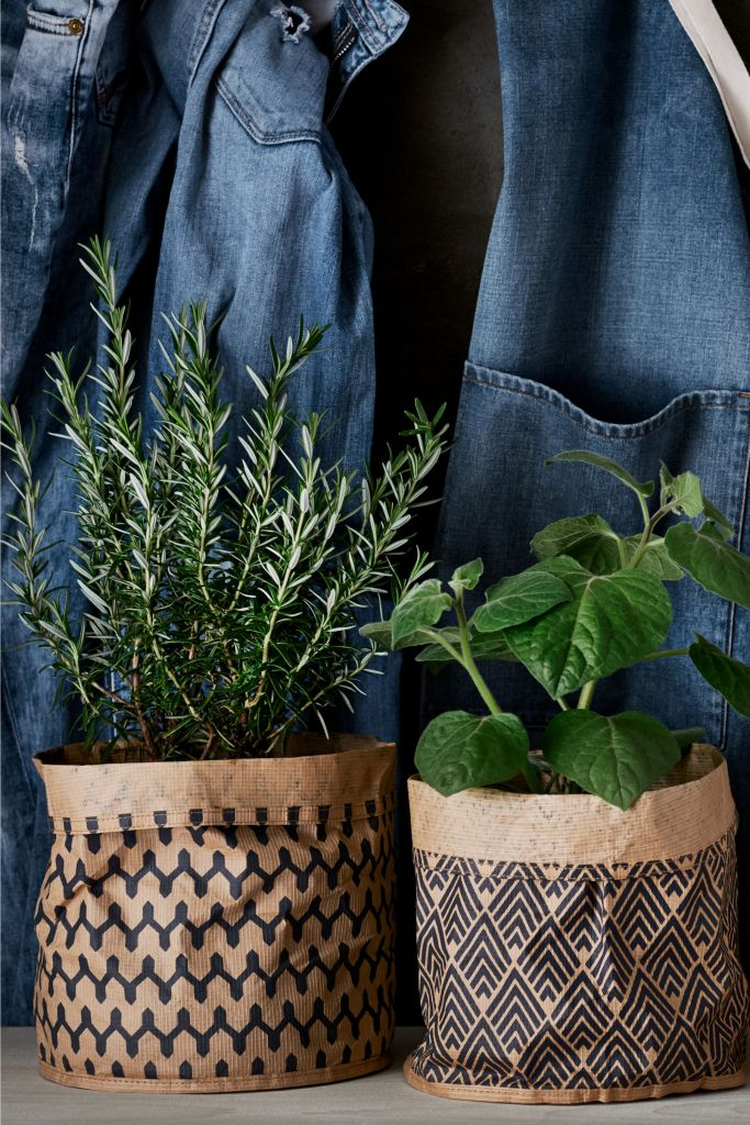 Embrace the paper storage basket trend, with these stylish designs