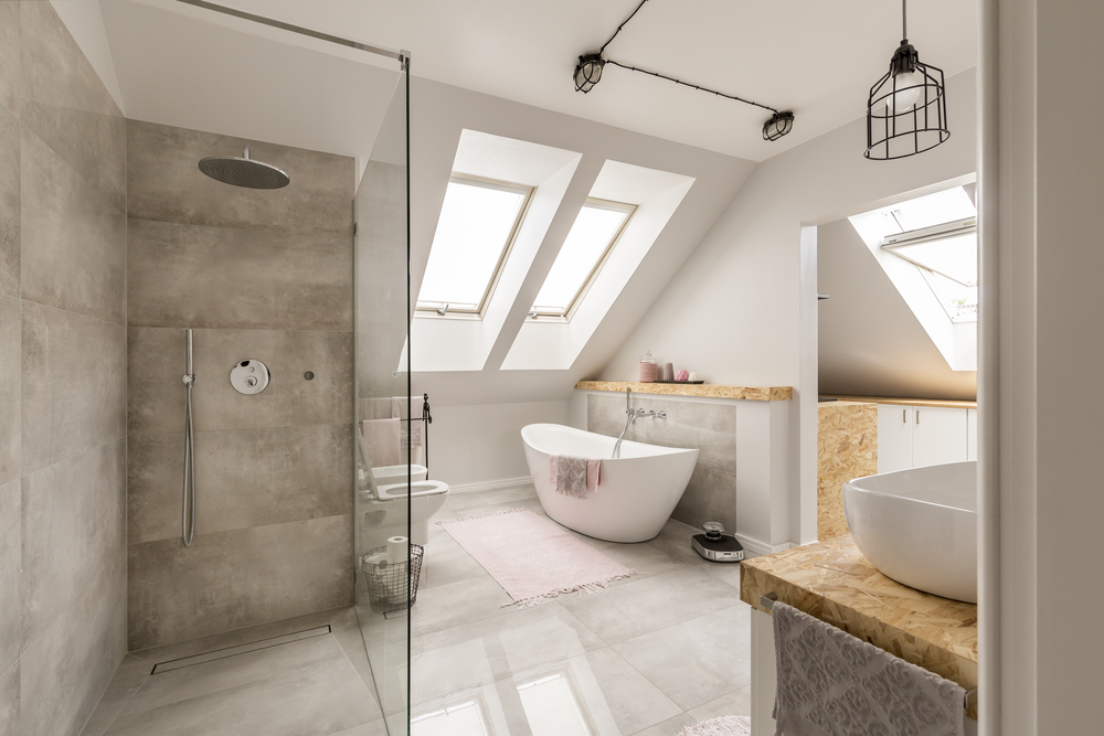 Could your loft be converted? You may have space for an extra bedroom and en-suite, like this stunning example.