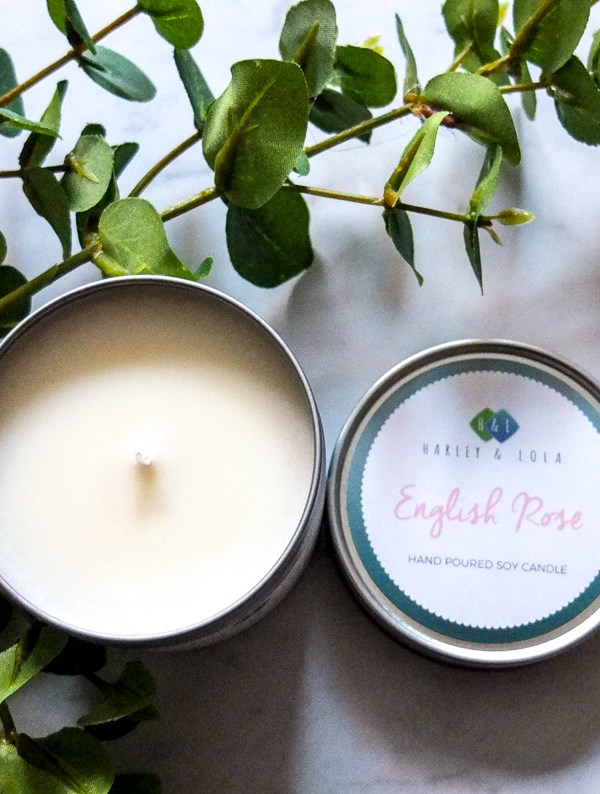 Fresh home scents: Harley & Lola candles